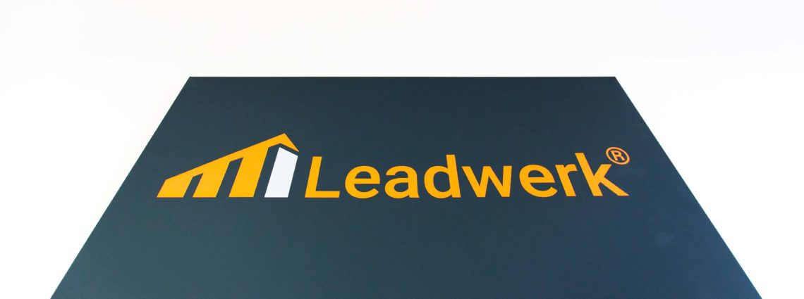 Wandbild Leadwerk 1140x425